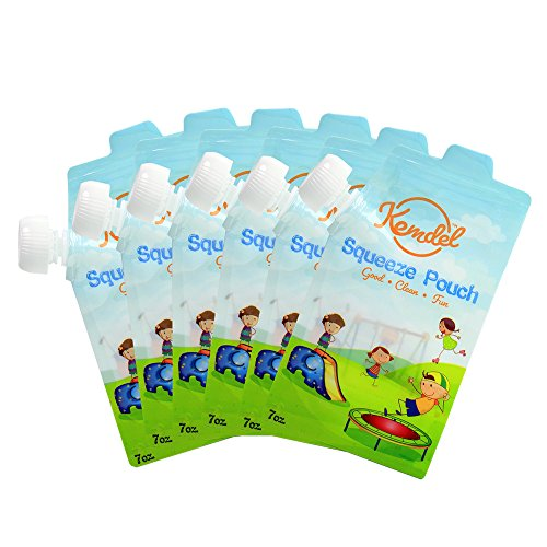 reusable baby food pouch 7 oz - 9