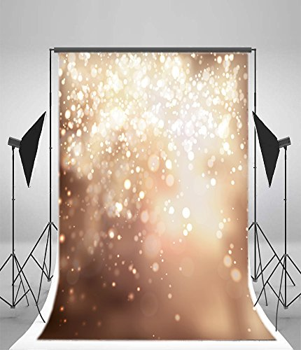 - Leyiyi 5x7ft Snowing Winter Merry Christmas Backdrops Cold Winter Holiday Snowflake Snow Covered White World Dreamlike Banner Photography Background Happy New Year Photo Studio Prop Vinyl Wallpaper