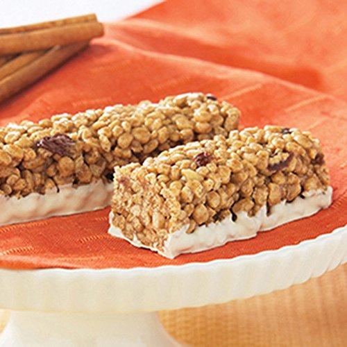Crispy Cinnamon Raisin Protein Bar 7/box by HealthWise