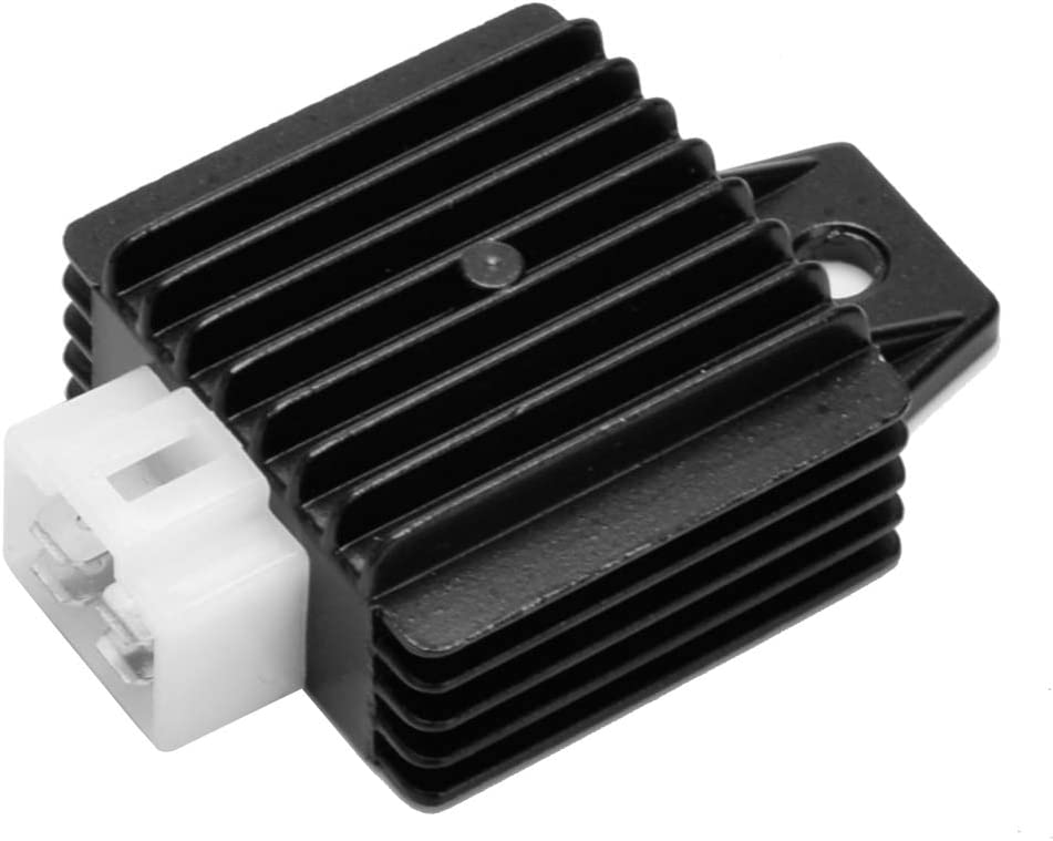 A//C 50cc C1584000000 UMPARTS 4 pin 12v Voltage Regulator Rectifier for all years GENUINE Scooter Moped Buddy 50 RC1 2 Stroke
