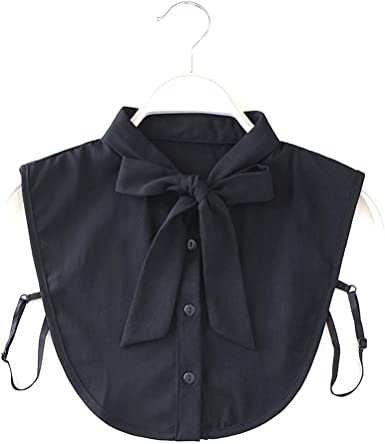 BASSK - Collar de camisa para mujer, estilo retro desmontable con cuello falso, accesorio para mujer Bk 1: Amazon.es: Ropa y accesorios