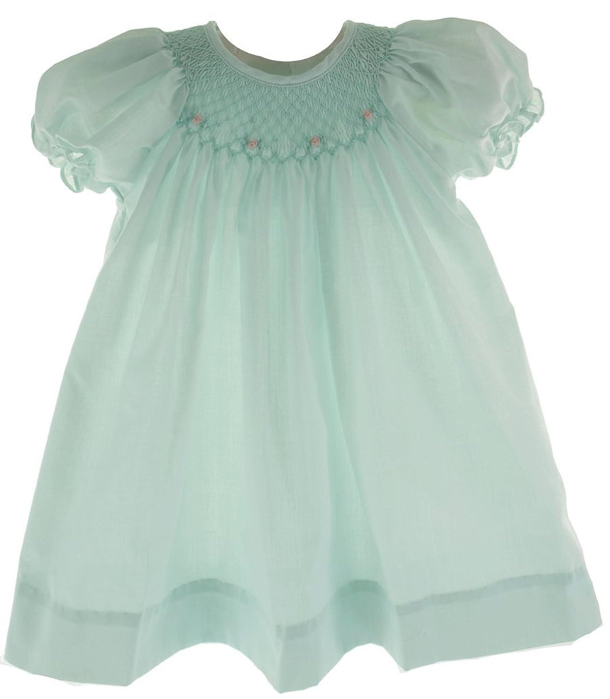 Amazon Petit Ami Baby girls Smocked Dress Infant And Toddler