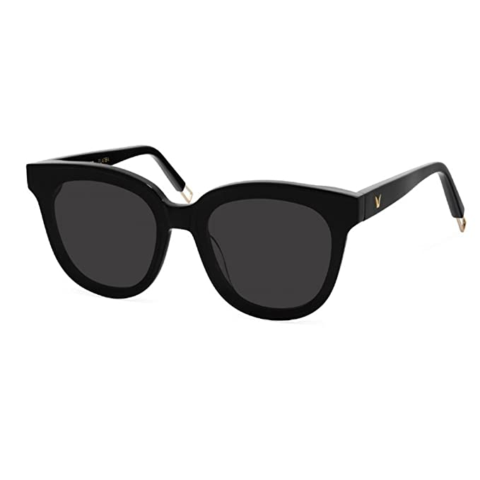 cdedf5b60bd5 Gentle Monster Sunglasses In Scarlet Flat Bar Black Lens Black Frame  Genuine  Amazon.ca  Clothing   Accessories
