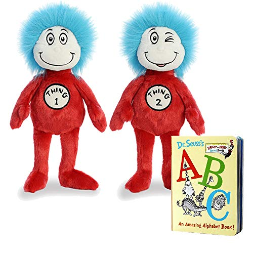 Aurora World Plush Dr. Seuss Set of 3, with 12