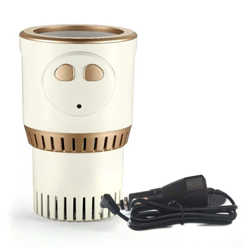 Lianle Car Warm and Cold Cup,Smart Warm and Cold Cup Electric Coffee Warmer Beverage Warmer Heating Cup for Road Trip by lianle -123 (Image #1)