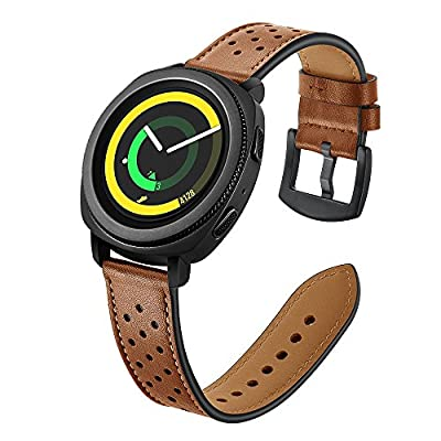 22mm Watch Band, 20mm Watch Band, OXWALLEN Watch Band Leather Quick Release Soft Watch Strap from OXWALLEN