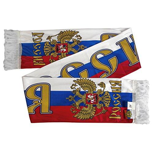 Russia Rossiya Fan Scarf