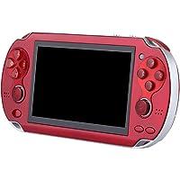 Mify Retro spelkonsol handhållna spel 4,3 tum HD skärm inbyggd 3 000 spel med dubbla joystick-knappar eller barn vuxna