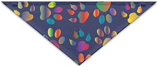 Myhou - Pañuelo para Mascotas, diseño de Huellas de Gato: Amazon ...