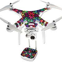 Skin For DJI Phantom 3 Professional – Stained Glass Window | MightySkins Protective, Durable, and Unique Vinyl Decal wrap cover | Easy To Apply, Remove, and Change Styles | Made in the USA