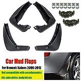Front Rear Mud Flaps for Renault Koleos 1 2008-2016 for Fender Splash Guards Mudguards Mudflaps Car Accessories