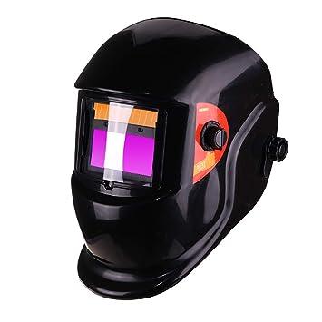 LAIABOR Casco Oscurecimiento Automático Soldadura Soldar Máscara Soldadores Máscara Oscurecimiento Automático De Solar