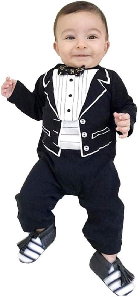 Disfraz frack bebé mameluco caballero pajarita 6/12 meses talla 80 papillon