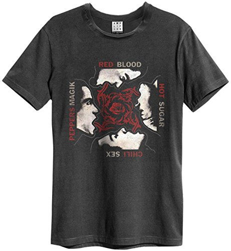 Amplified Homme Magic Sugar Rhcp shirt T Noir sex Blood P1xP4wqnFB