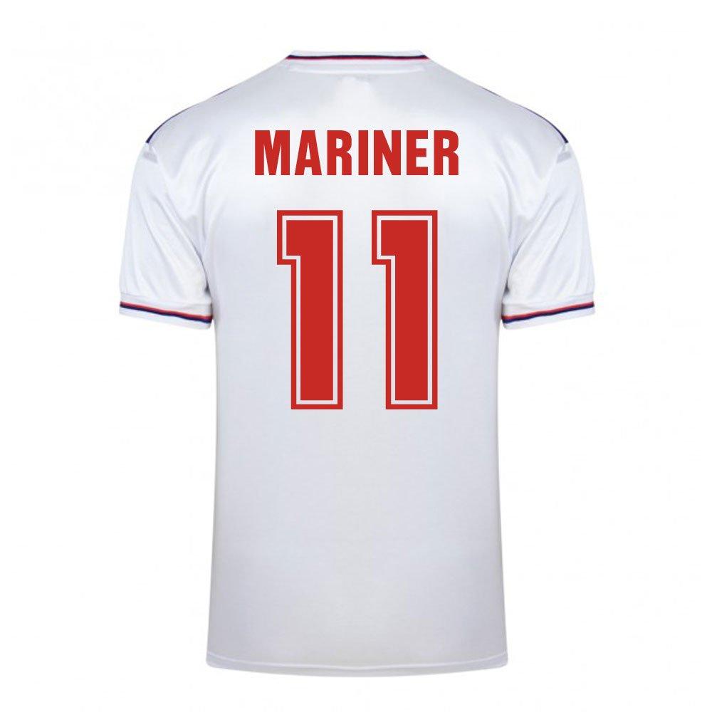 Score Draw England World Cup 1982 Home Football Soccer T-Shirt Trikot (Paul Mariner 11)