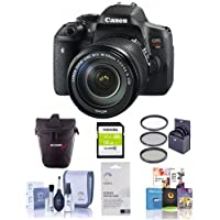 Canon EOS Rebel T6s DSLR Camera BUNDLE w/18-135mm f/3.5-5.6 Lens