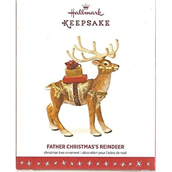 Amazon.com: Hallmark Keepsake Father Christmas's Reindeer ...