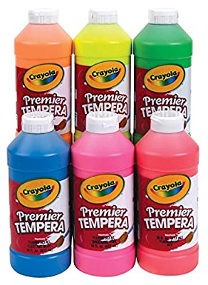 Crayola Fluorescent Paint 16-Ounce Plastic Squeeze Bottle | Educational Toys