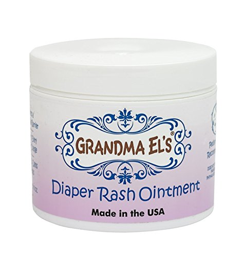 Grandma El's Diaper Rash Remedy & Prevention Baby Ointment Jar, 3.75-Ounce