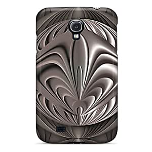Premium WovyguV7550XmfGe Case With Scratch-resistant/ Pewter Case Cover For Galaxy S4