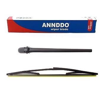 Parabrisas Trasero Brazo del limpiaparabrisas y Blade Set para Seicento 1998 - 2010: Amazon.es: Coche y moto