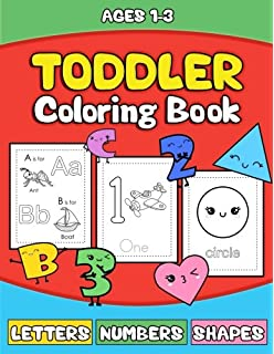 Coloring Books for Toddlers & Kids: Toddler Coloring Books for Kids ...