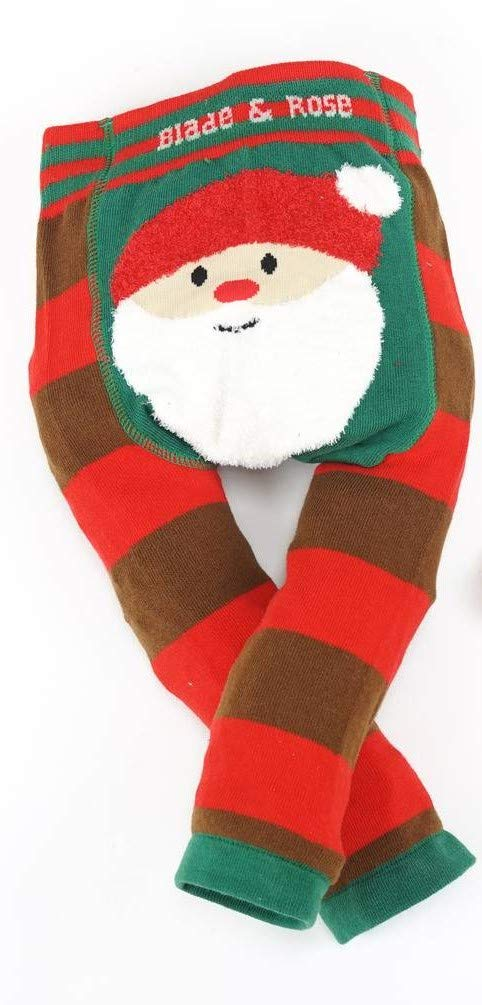 Blade & Rose Fluffy Christmas Santa Leggings (2-3 Years)
