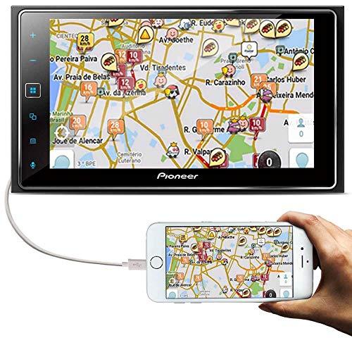 "Central Multimídia Pioneer Sph-Da138Tv 6.2"" Touch/Tv/Bt/Usb/Android/Apple"