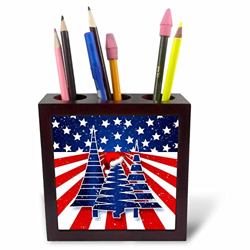 Doreen Erhardt Patriotic - Stars and Stripes Christmas Tr...