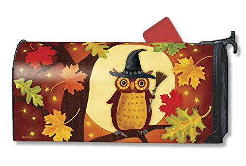 MailWraps Halloween Owl Mailbox Cover 02770