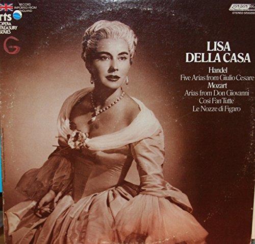 Lisa Della Casa: Handel Five Arias From Giulio Cesare / Mozart: Arias From Don Giovanni, Cosi Fan Tutte, Le Nozze Di Figaro (RTS Opera Treasury ()