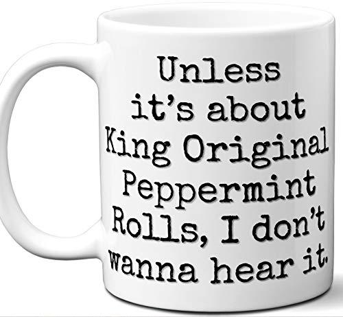King Original Peppermint Rolls Gift for Lover Coffee Mug.