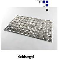 1,5/2 Aluminium-Riffelblech Länge 500/600/750/1000/1500mm Warzenblech (700x1500mm)