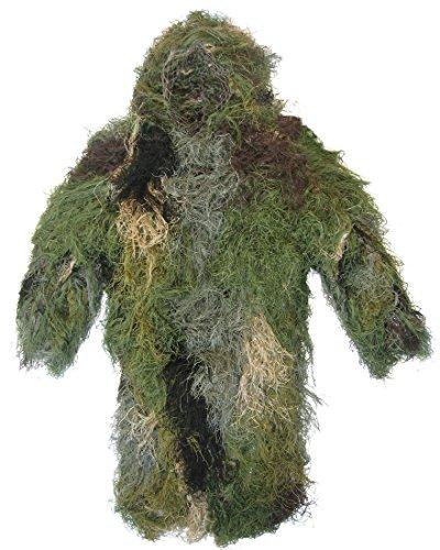 Bushrag Ghillie Suit Ultra-Light Long Jacket