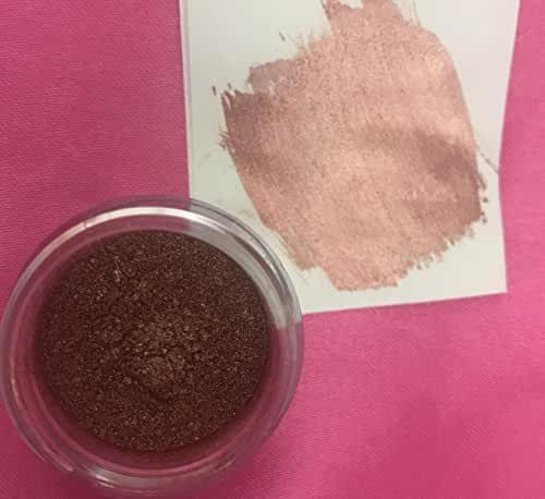 ROSE PINK GOLD HIGHLIGHTER DUST 4 grams each container, rose pink gold highlighter By Oh! Sweet Art