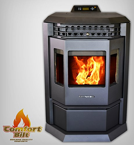 Comfortbilt Pellet Stove-HP22 50,000 btu Metallic Black! - Limited Edition!