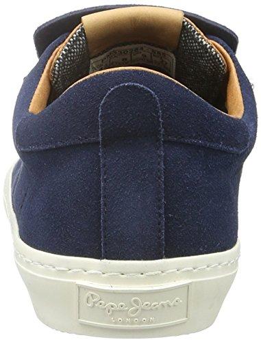 Jeans Blu Sneaker Whistle marine Low Pepe Uomo 585 BgXqdnzBaw