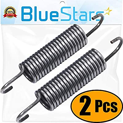 Ultra Durable 280159 Washer Spring Replacement part by Blue Stars - Exact Fit for Whirlpool & Kenmore Washers - Replaces 1175779, 280159, 8540102, AP3904440, W10010360 - PACK OF 2