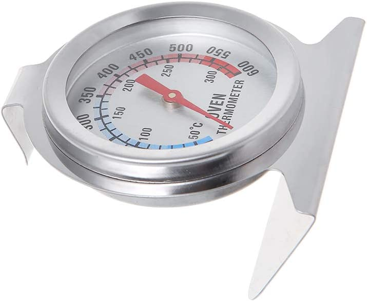 Stainless Steel Dial Oven Thermometer, Baking Temperature Gauge Kitchen Supplies