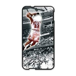 Bulls 23 flying man Jordon Cell Phone Case for HTC One M7