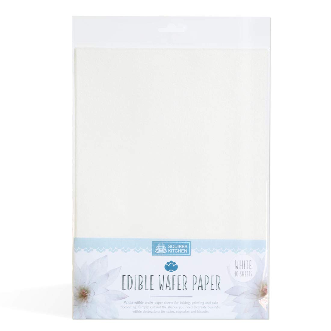 Edible Rice Paper Pack containing 25 x A4 Sheets for Photos decorations