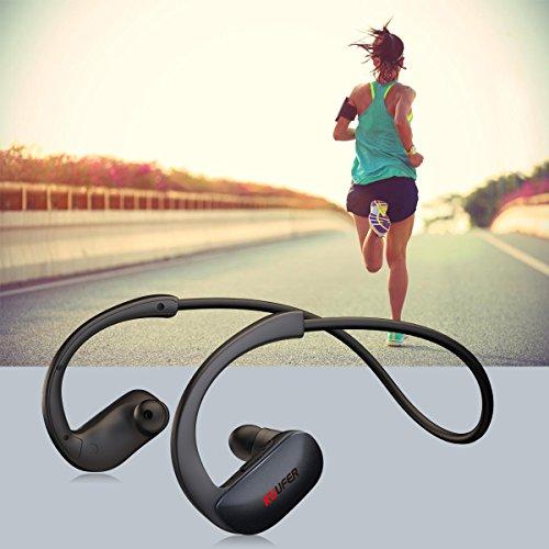 KUUFER Wireless Headphones, Bluetooth Earbuds Stereo,Noise C
