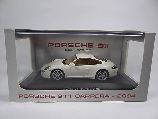 Atlas Porsche 911 Carrera 997 2004 Weiß1 43 Ref 4014 Spielzeug