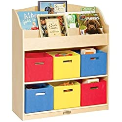 Guidecraft Book & Bin Storage Set