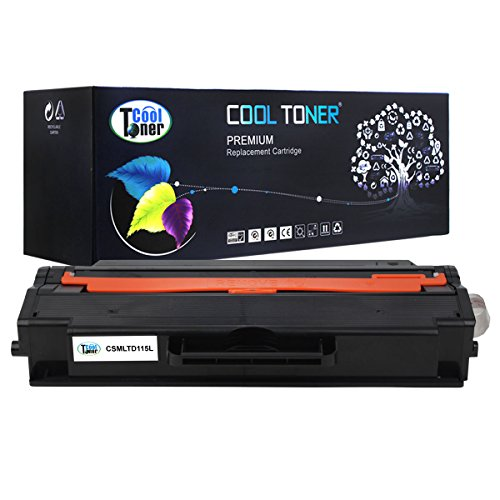Cool Toner 1 Pack 3,000 Pages Compatible Toner Cartridge Replaces Samsung 115L MLT-D115L MLTD115L MLT D115L Used For SL-M2620 SL-2620ND SL-2820DW SL-2820ND SL-M2670FN SL-2670N SL-2870FD SL-2870FW