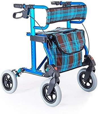 WXC WALKER Ayuda a Caminar Andador De Andador De Aluminio Plegable ...
