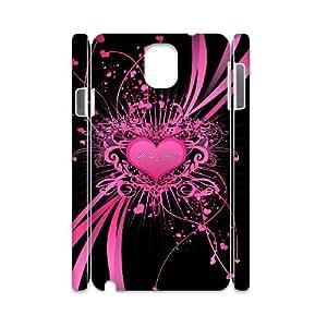 WJHSSB Diy case Love Pink customized Hard Plastic case For samsung galaxy note 3 N9000