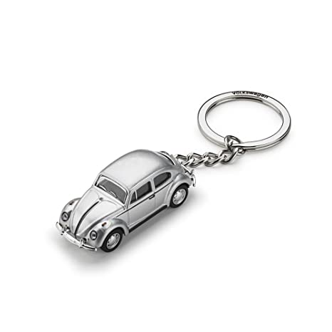 Amazon.com: Volkswagen 311087010 Key Ring VW Beetle 3D ...