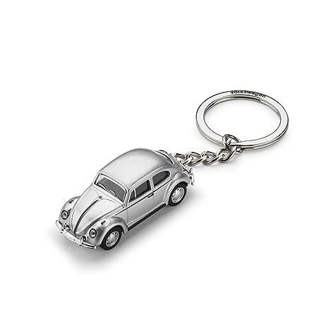 Amazon.com: Volkswagen 311087010 Key Ring VW Beetle 3D ...