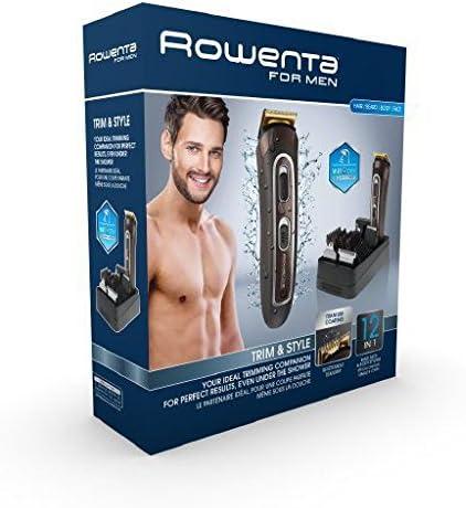 Rowenta, Trim & Style - Kit de Aseo personal 12 en 1: Afeitadora y ...